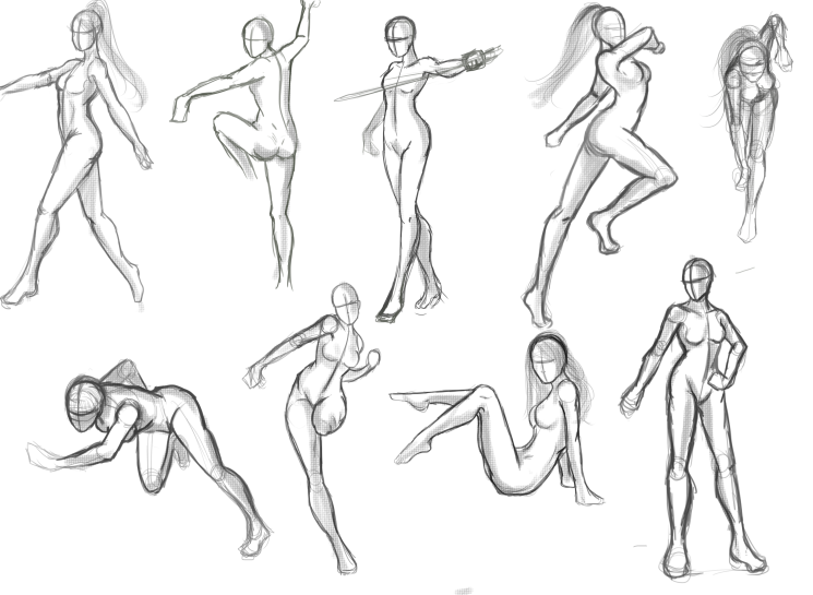 Figure drawing how to begin when we draw a figure using circles and ovals help create body parts and proportions start with fewer details and slowly add